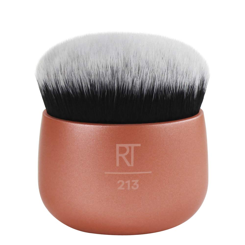 Real Techniques Makeup Blender Brush for Liquid Foundation, Versatile for Cream and Powder Foundations: Beauty