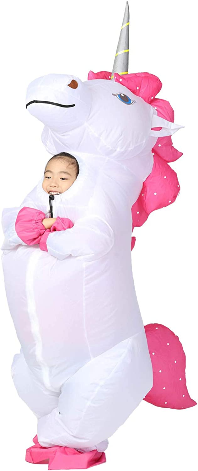 JYZCOS Inflatable Unicorn Costume Halloween
