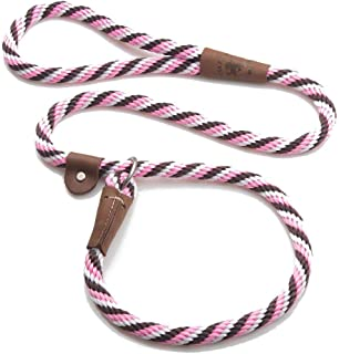 """product image for Mendota Pet Slip Lead, 1/2"""" X 6', Pink Chocolate, Dogs"""