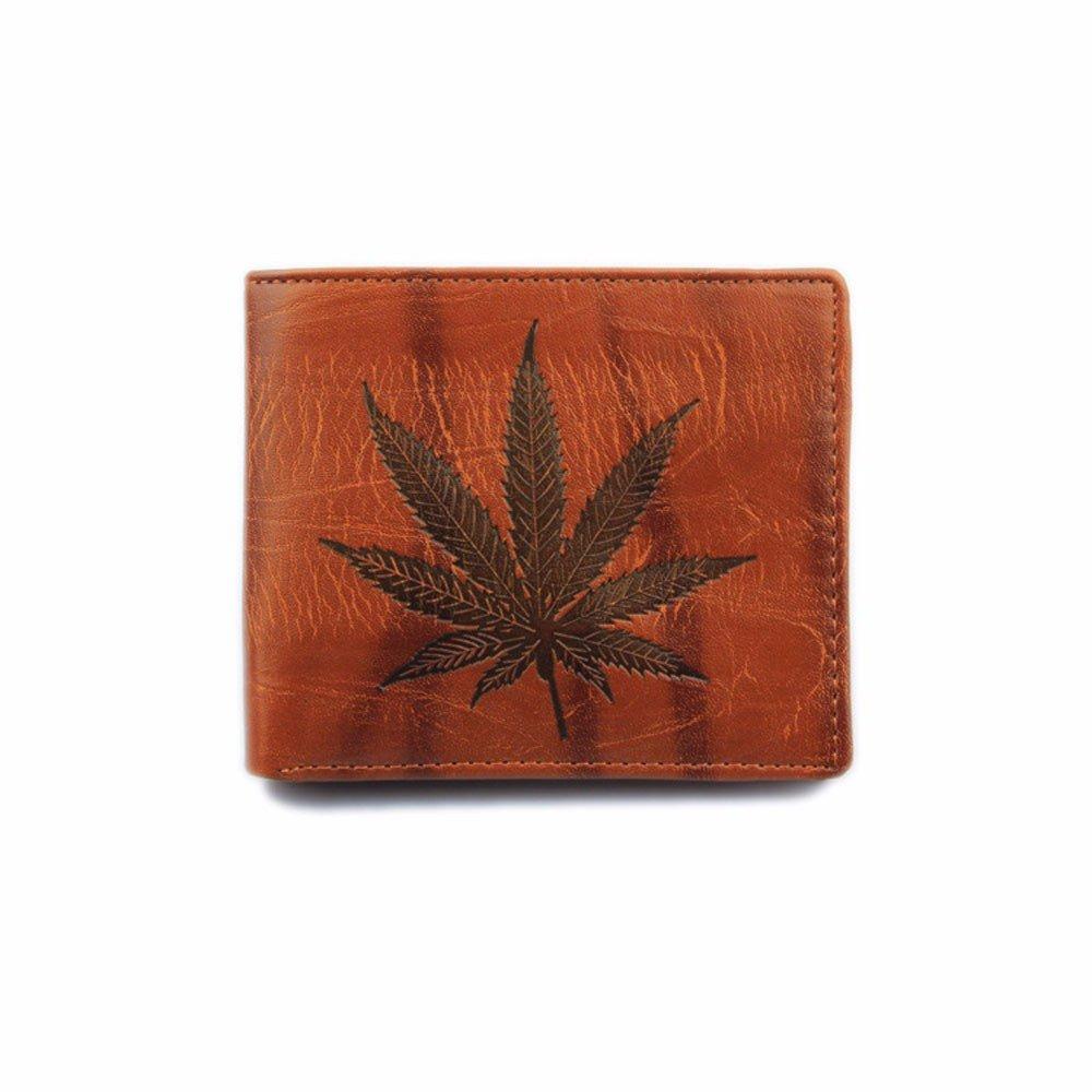 Men's Leather RFID Blocking Passcase Security Wallet Receipt Holder Organizer Bifold Wallet Purse