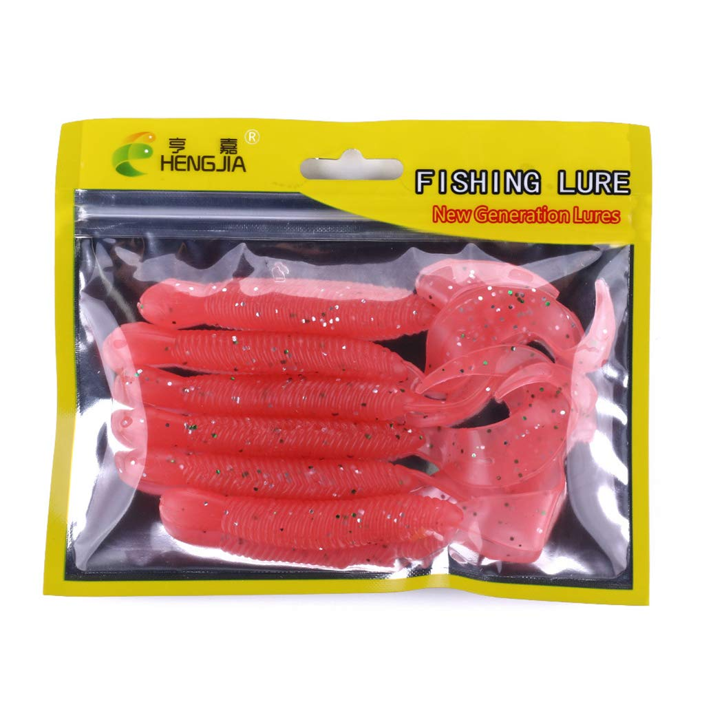 9,2g Grub P/êche Leurre Curly Tail Plastique leurre Souple engins de p/êche Saltwater deau Douce Uokoki 12cm
