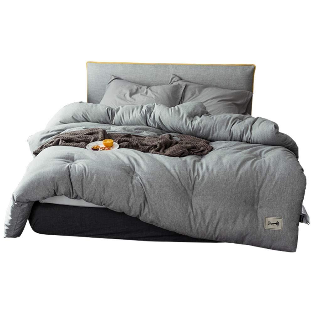 Comfortable Home Winter Dicke warme Steppdecke, farbige Baumwollfertigkeit, einzelne Studentsteppdecke 150 * 200cm