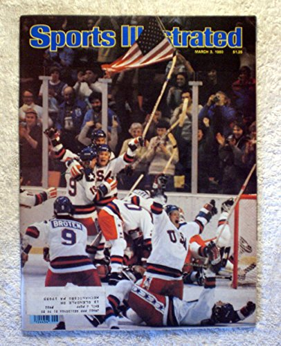 Miracle on Ice! - The U.S. Hockey Team defeats the Soviet Union 4-3 - XIII Winter Olympic Games - Lake Placid, NY - Sports Illustrated - March 3, 1980 - SI (Lake Placid Winter Olympics)