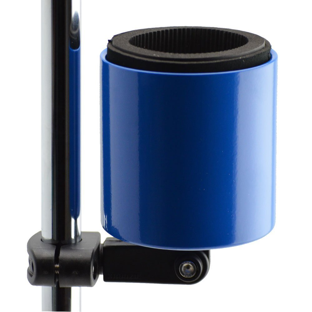 Kroozie Kroozercups Deluxe Bicycle Cup Holder 2.0 in Blue