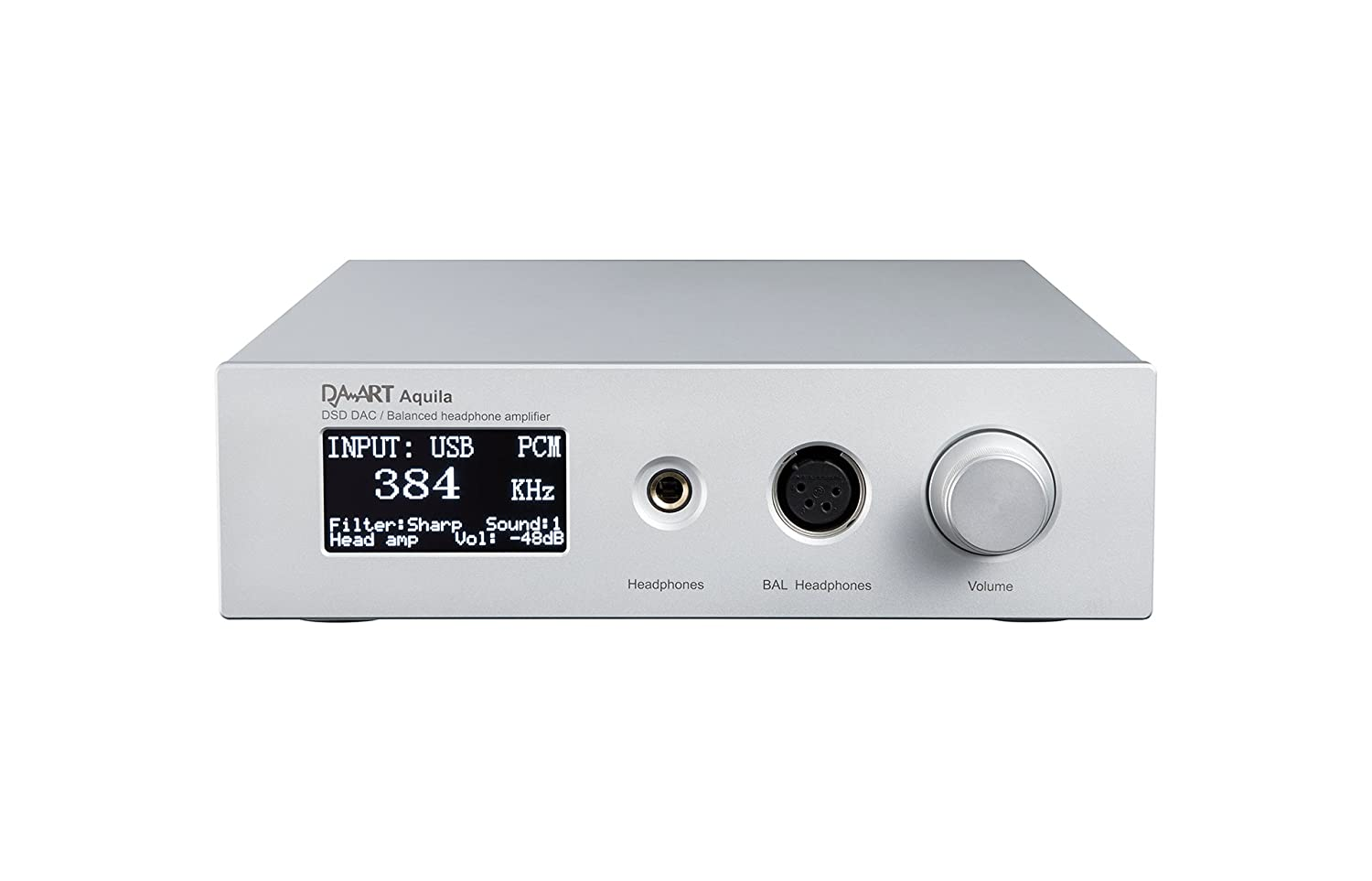 Hifi Decoder Amplifier Yulong Audio Daart Aquila 500k Usb Dac Headphone Amp With Easy To Use Digital Volume Control Ebay Ak4497 Dsd Dop128 Pcm384k Silver Cell Phones Accessories