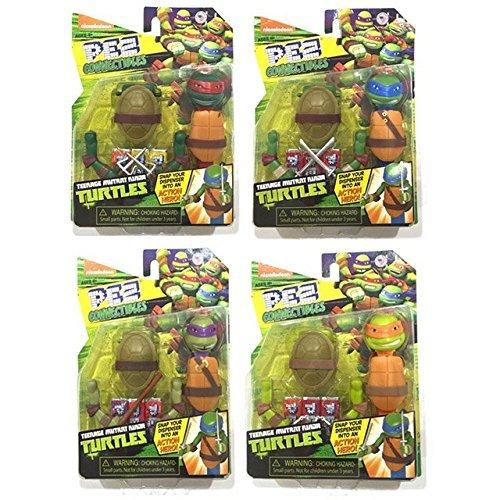 Amazon.com: PEZ Pez Ninja Turtles, with body parts, set of 4 ...