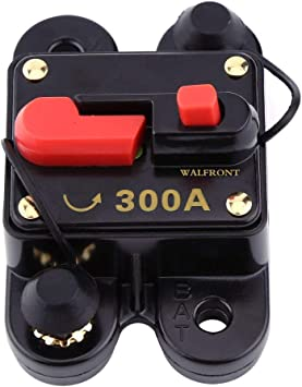 80~300A AMP Car Audio In line Circuit Breaker Manual Reset Boat 12V 24V Fuse HOT