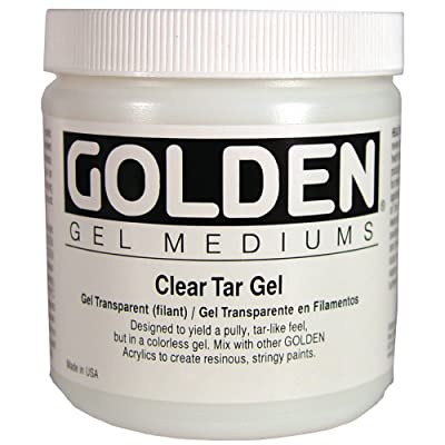Golden - Clear Tar Gel - Pint,16 oz: Home & Kitchen