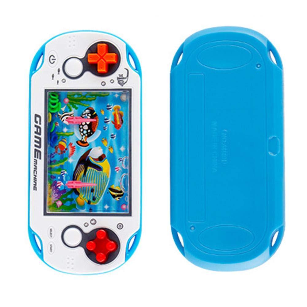 Blentude Kinder Retro Spielzeug-Spiel-Maschine Unterwasser-Ring-Kreis-Handspiel-Maschine Zwinge Water Machine Classic Game