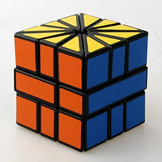 Toys & Hobbies Black Square Ii Sq2 3x3x3 Speed Cube Sector Magic Cube Puzzle Toy