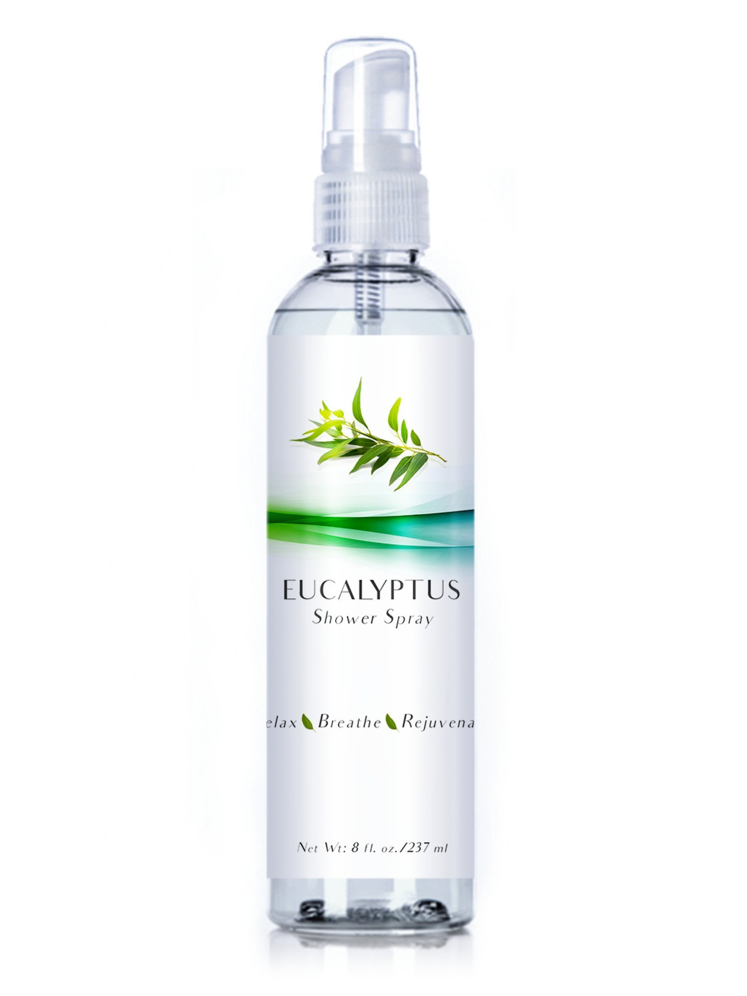 Luxury Eucalyptus Oil Steam Shower Spray, Best Mist Essential Oil for Spa Room, Showers and Baths (Eucalyptus, 8oz) by Three Drops of Life