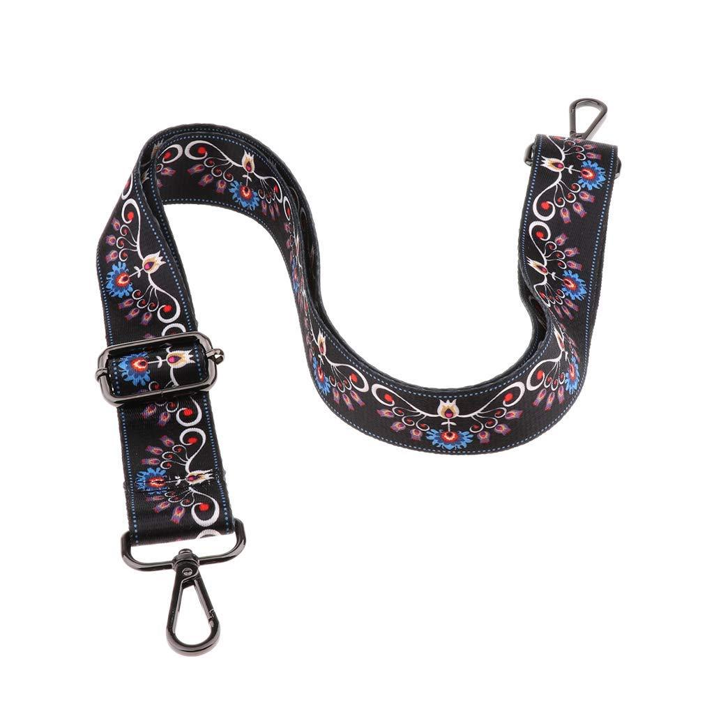 Ethnic Adjustable Shoulder Bag Strap Replacement Crossbody Handbag Handle Belt