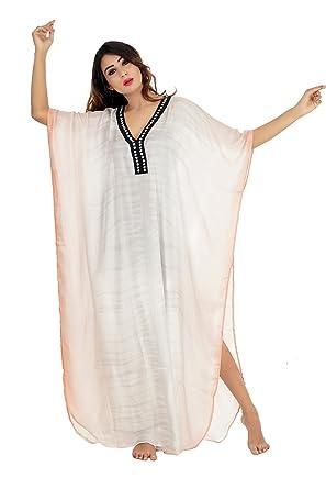 be3d76ebd2 Silk kaftan Online one Piece Dress Hand Made/Formal/Caftan Beach Cover up  hot