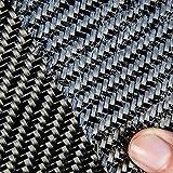 Tejido Fibra de Carbono con ensimaje epoxi CarboPro™ Twill2/2 200gr 1m2