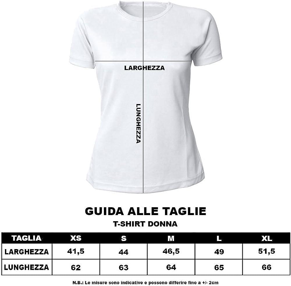 Altra Marca Pacchetto T-Shirt Magliette da Donna con Grafica Oro Personalizzate per Addii al Nubilato Sono Io La Sposa Nero