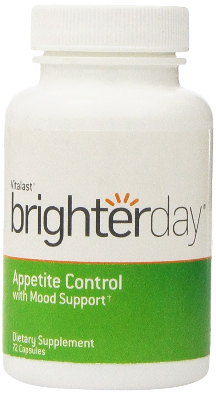 BrighterDay, Appetite Control with Mood Support, 72 Capsules by VITALAST