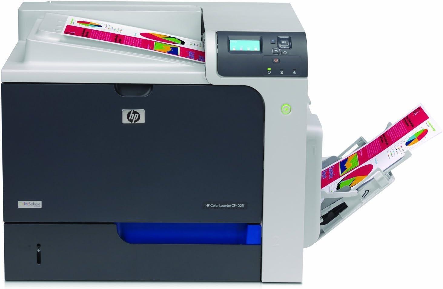 HP CC490A Color Laser Jet Enterprise Printer, Black/Silver (Certified Refurbished)