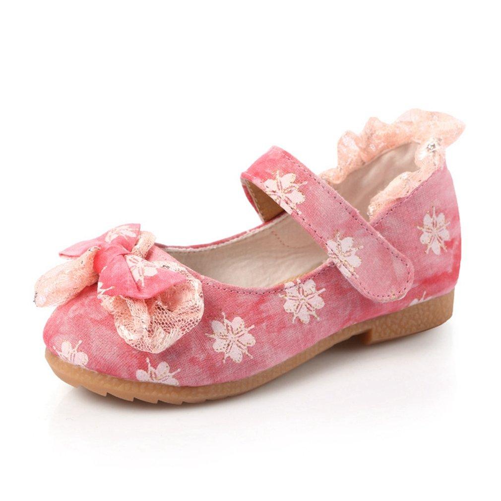 CYBLING Toddler Little Girls Mary Jane Flower Ballerina Ballet Flats Princess Dress Shoes