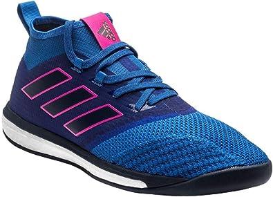 Chaussures de Futsal bleues ACE Tango 17.1 TF adidas