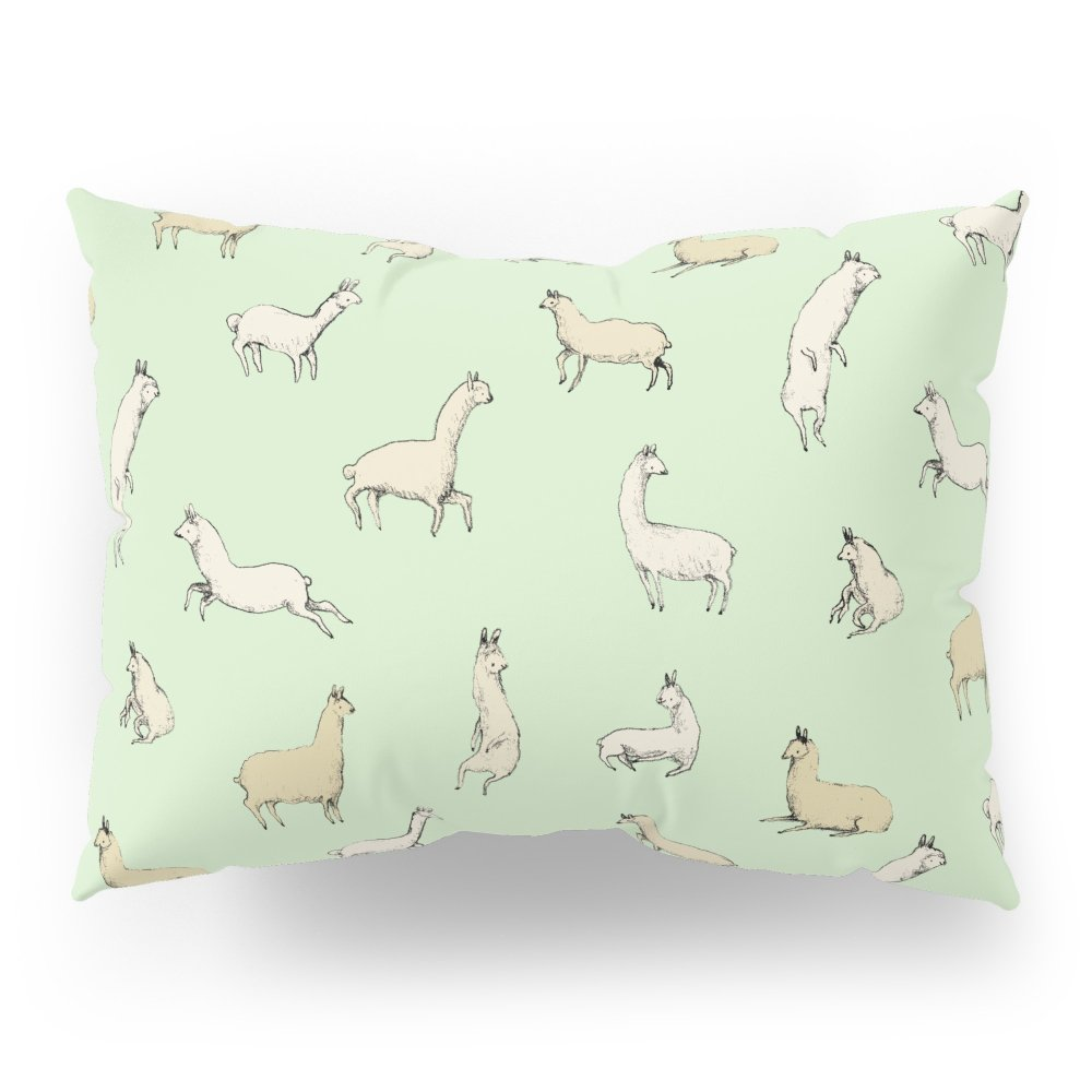 Society6 Llamas Pillow Sham Standard (20'' x 26'') Set of 2
