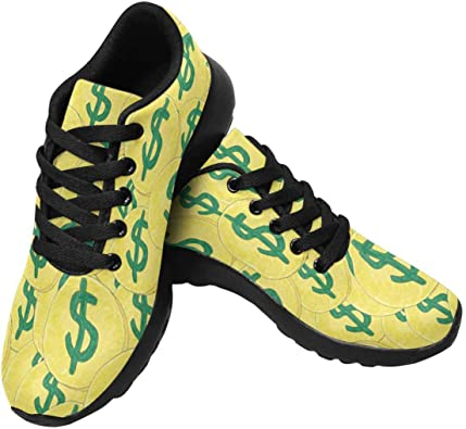 InterestPrint Womens Running Sneakers