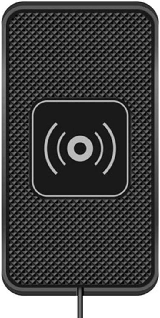 ForceSthrength Dock per Pad di Ricarica per Telefono Cellulare Antiscivolo in Silicone con Caricabatterie Wireless per Auto C3