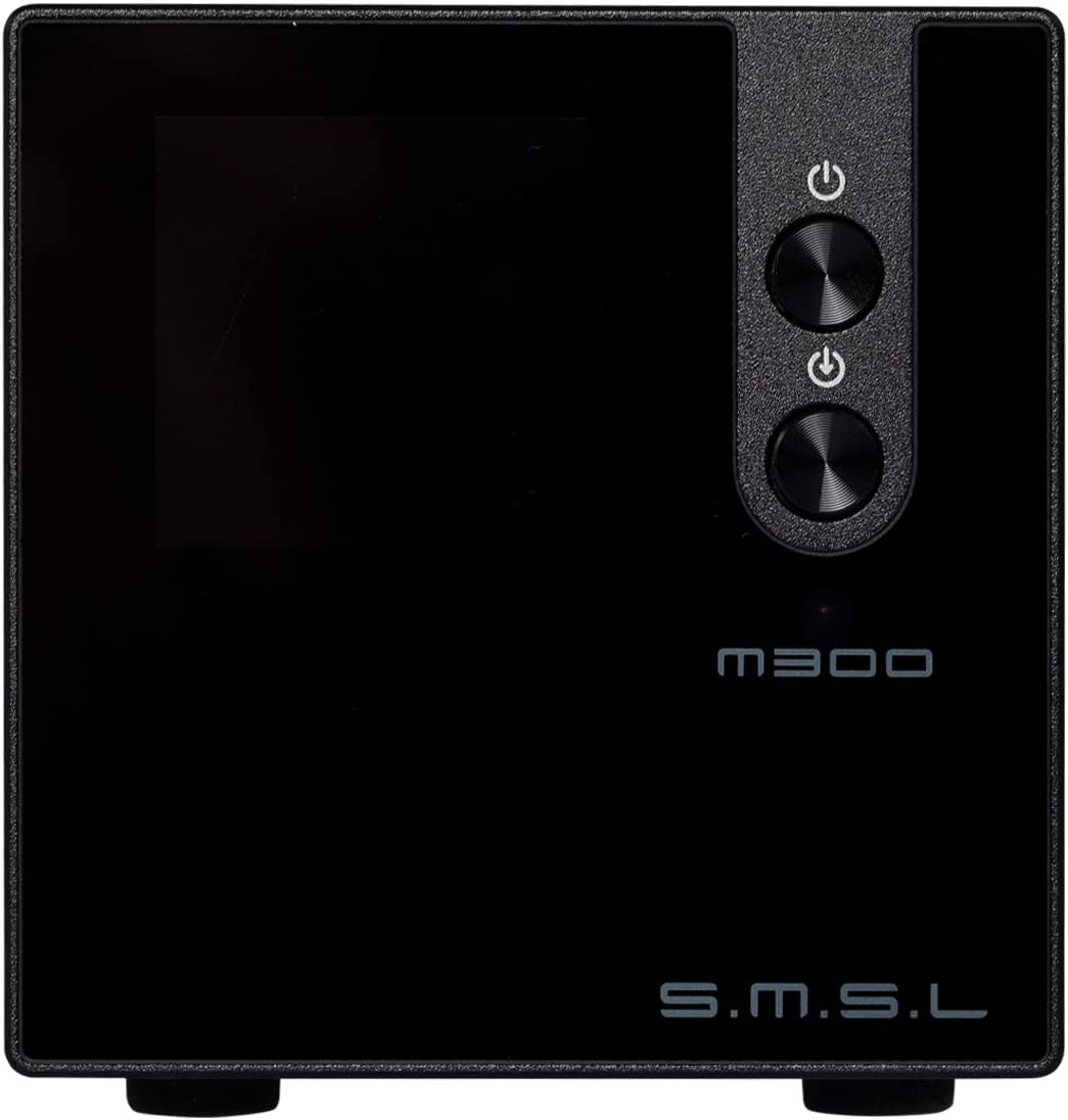 SMSL M300 MKII DAC Uses AKM s Flagship Audio Decoding Chip AK4497, Ultra-high SNR, Ultra-Low Distortion to Support DSD Black