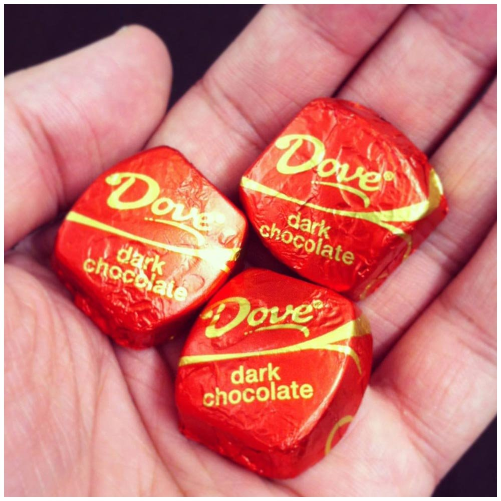 Amazon.com : DOVE PROMISES Dark Chocolate Candy 8.87-Ounce Bag ...