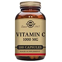 Solgar Vitamin C 1000 mg Vegetable Capsules - Pack of 100