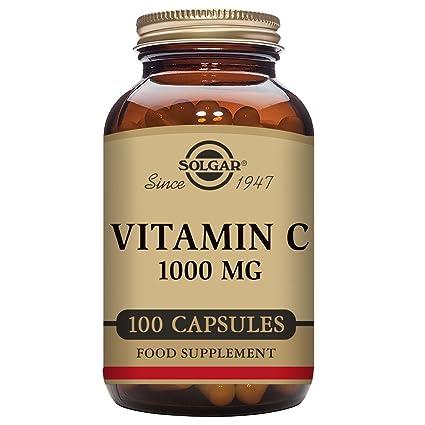 Solgar Vitamina C - 100 Cápsulas
