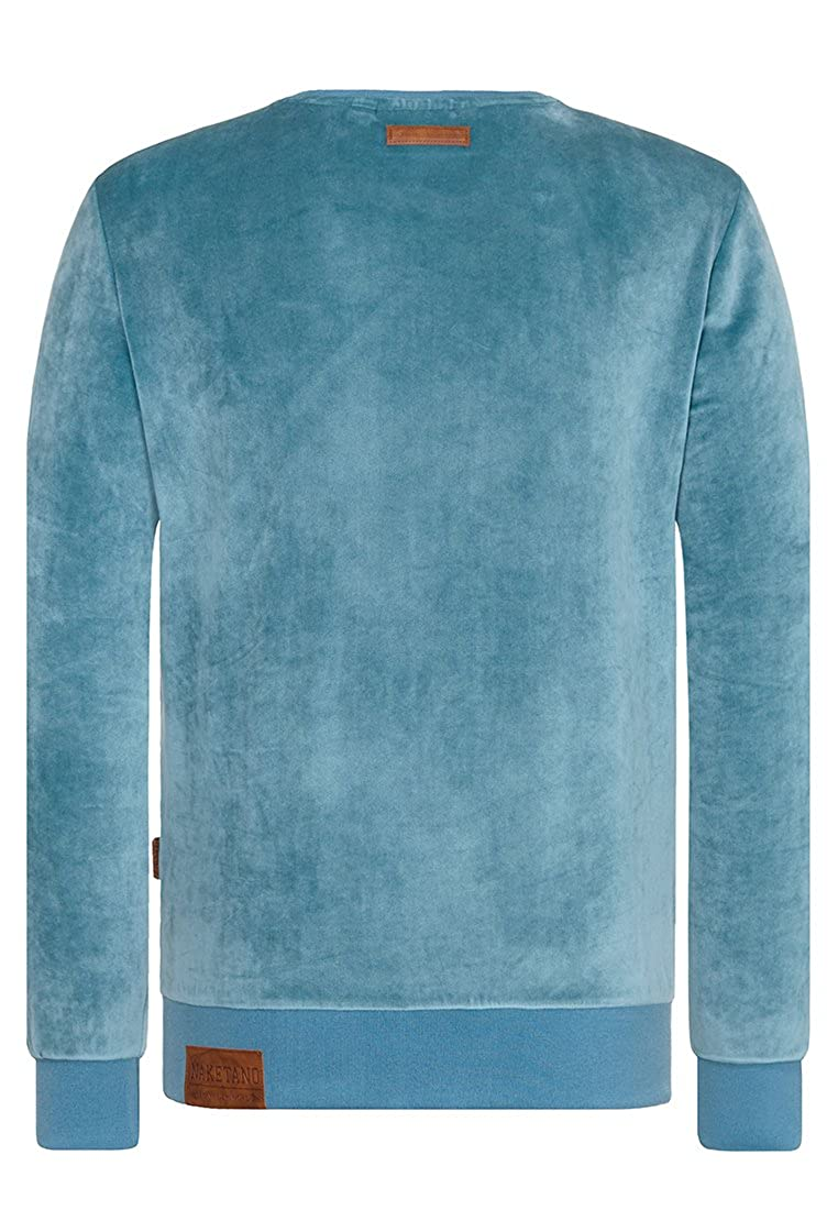 Naketano Men's Sweatshirt Asgardian Mack III Dusty Blue, M at Amazon Men's  Clothing store: