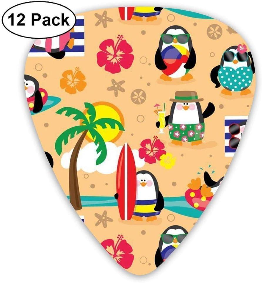 Penguins in Paradise Guitar Picks Electric Guitar 12 Pack: Amazon.es: Instrumentos musicales