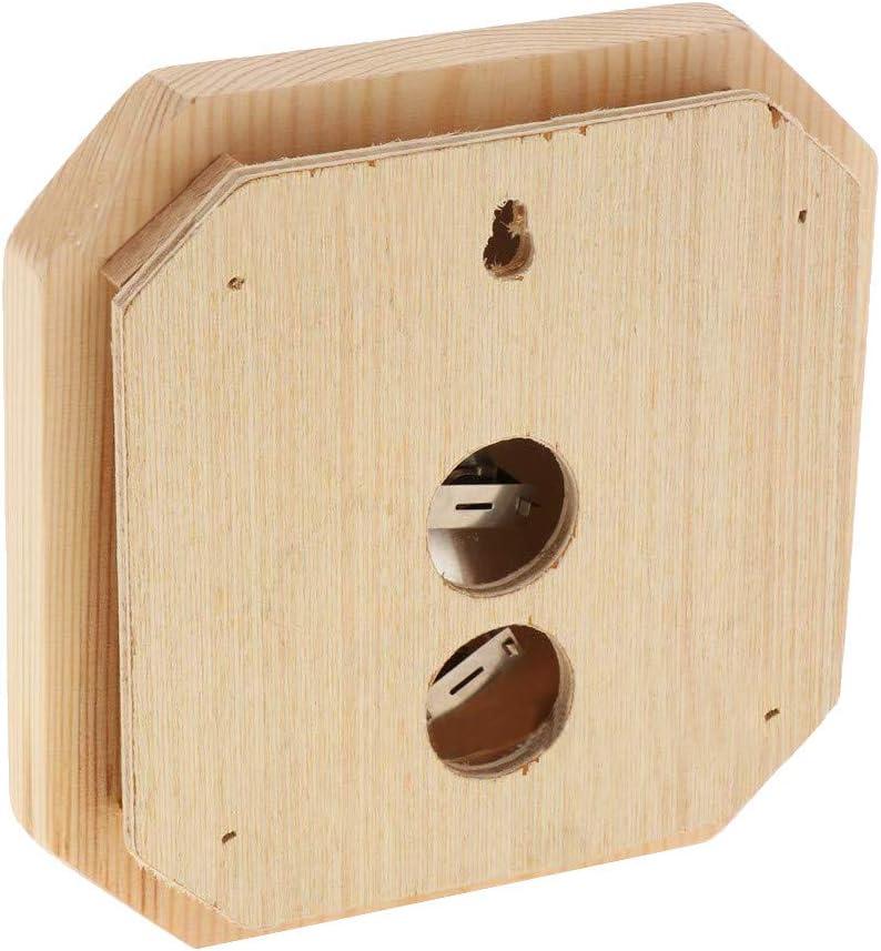 BP Sauna Hygrothermograph Thermometer Hygrometer Wooden 2 in 1 Indoor Humidity Temperature Measurement Sauna Room Equipment Sauna Accessories