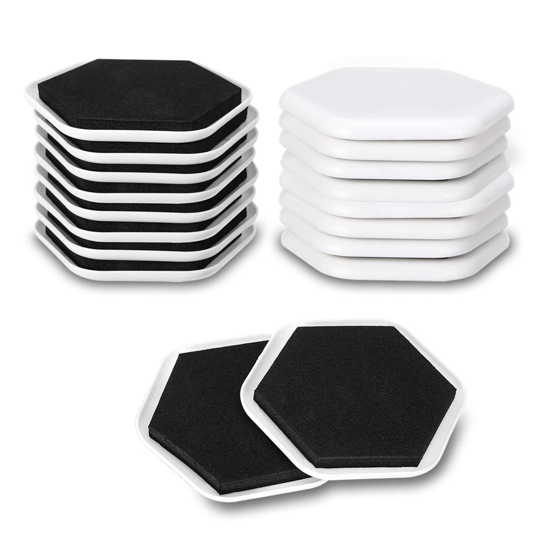 Furniture Sliders Pads 3 Inch Reusable Heavy Duty Furniture Moving