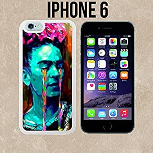 Frida Kahlo Colorful Tears Custom made Case/Cover/Skin for iPhone 6 - White