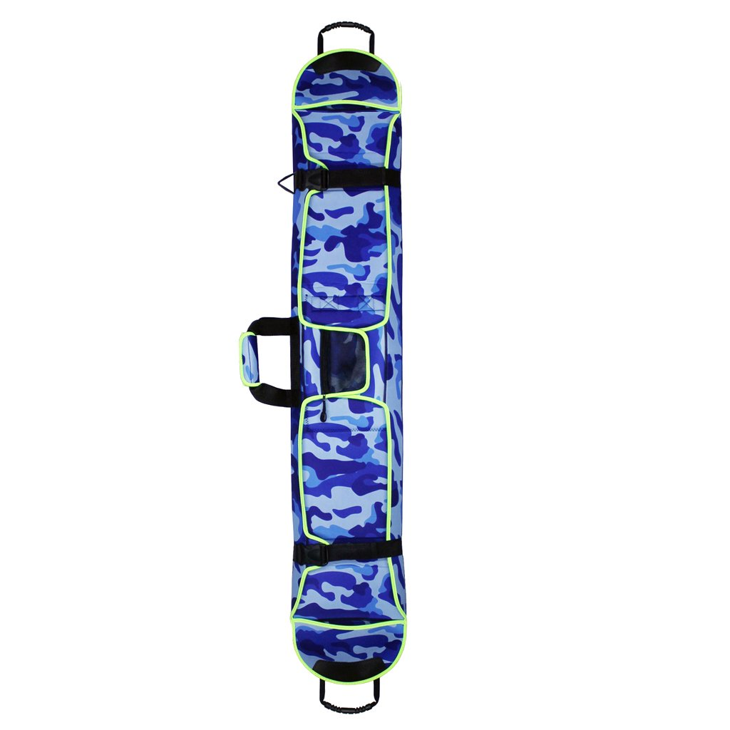 MagiDeal Snowboard Cover Waterproof Ski Bag Snowboarding Carry Case