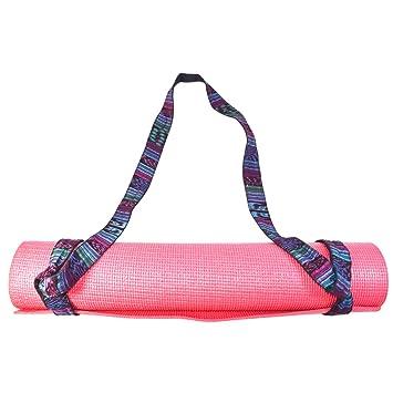 Amazon.com: Esterilla de yoga Sling 6 foot hecho a mano con ...