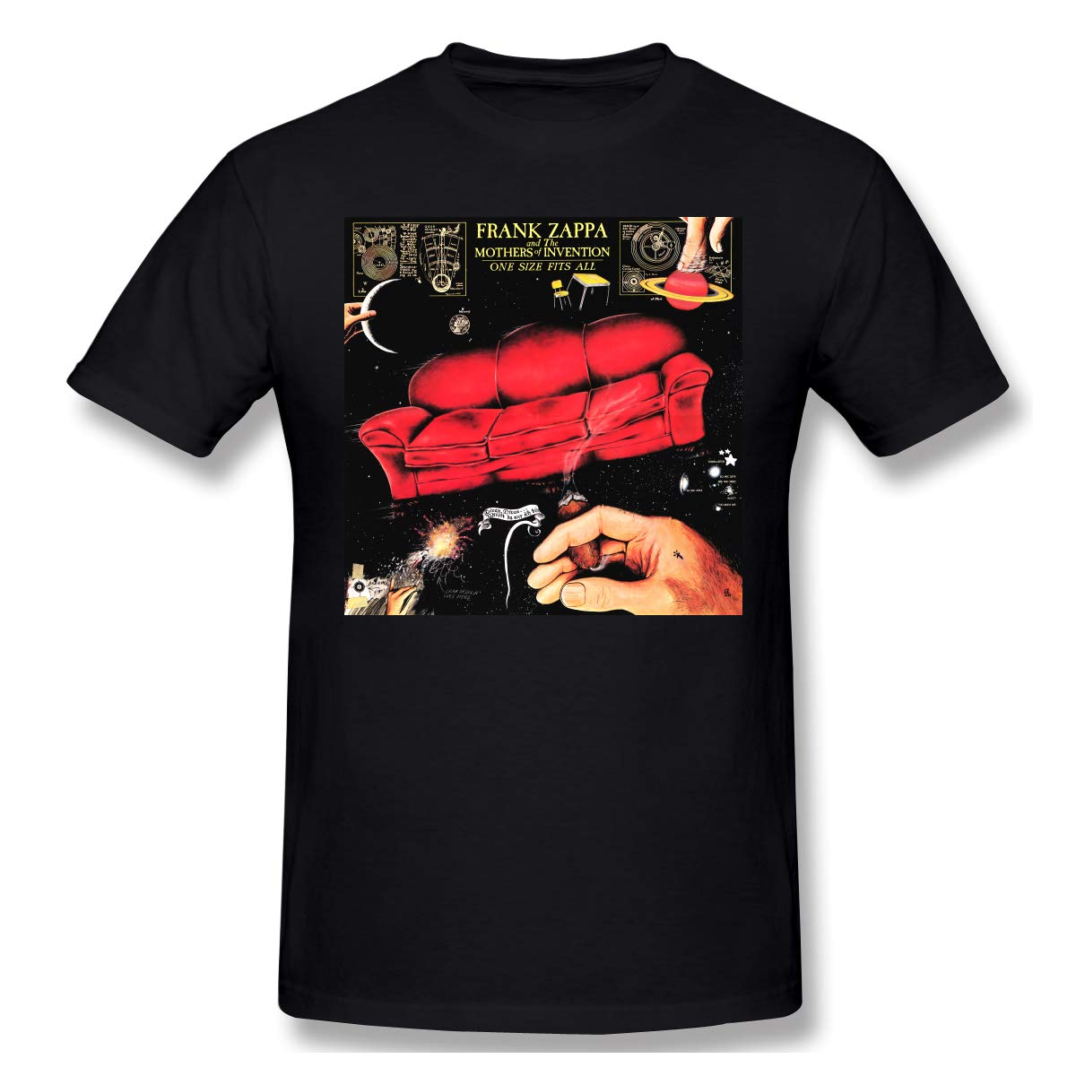 Natalie B Phillips Frank Zappa One S All Round Neck Comfortable Short Sleeves T Shirt 6860