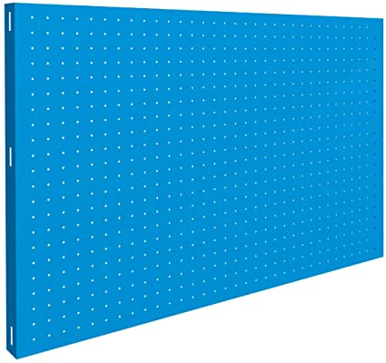 SimonRack SI908 Panel Perforado, Azul, 900 x 600 mm