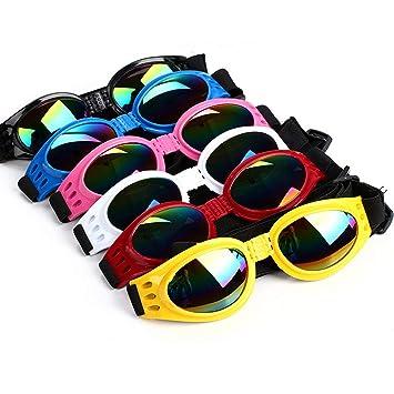 1pc elegante de la diversión del animal doméstico gafas de sol inastillables Uv Protección de los ...