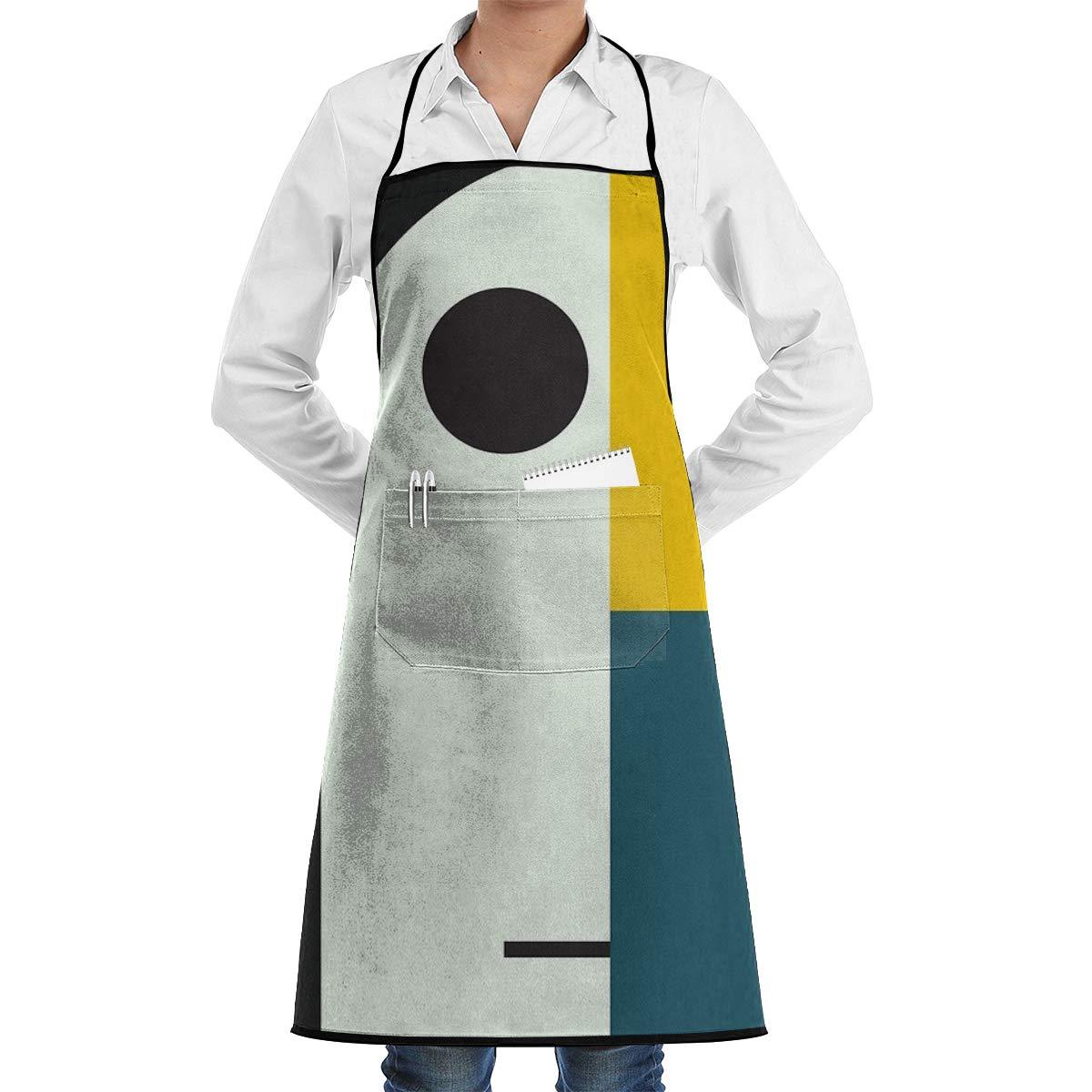 Ameok-Design Bauhaus Age - Delantal de Cocina Unisex Ajustable con ...