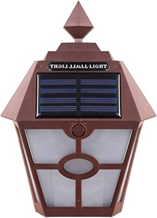 Mucheng ZI Retro Panel LED Panel Hexagonal Luces de Pared 5Watts Jardín Exterior Cerca Escalera Lámpara Impermeable Paisaje Guirnalda Iluminación Al Aire Libre Luces 1 unids Luz al Aire Libre: Amazon.es: Hogar