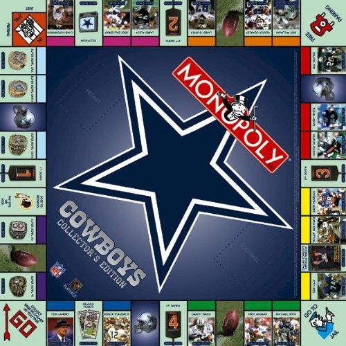 Dallas Cowboys Monopoly Collector's Edition (Monopoly Fantasy Football compare prices)
