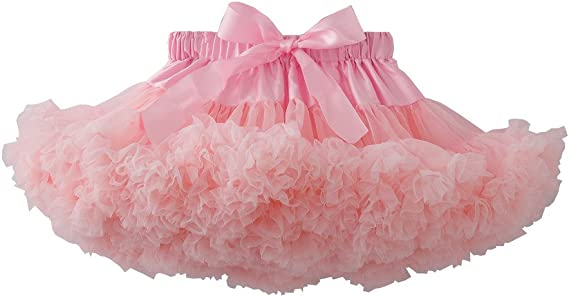 kephy Baby Birthday Tutu Little Girls Pettiskirt Princess Tulle Skirt Party Wear 0-10T