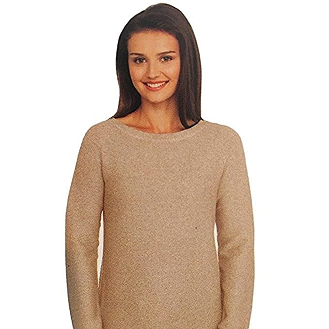 504b19f03 Cyrus Womens Size XX-Large Ribbed Texture Pullover Tunic Sweater ...