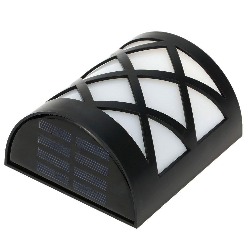 Night Light Outdoor,Waterproof Solar Light,Wall Light Fixture Lamp, for Garden,Yard,Patio, Driveway,Stairs - Warm White