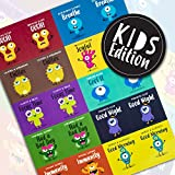 Essential Oil Roller Bottle Labels | Vinyl Waterproof Stickers | Kids Friendly Monster Edition With...