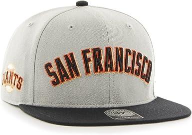 Gorra plana gris con letras de San Francisco Giants MLB de 47 ...