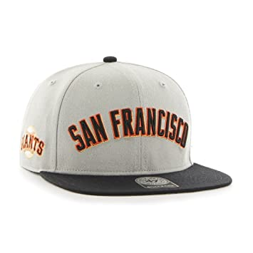 brand new 386f7 c66ed  47 Brand San Francisco Giants Script Sure Shot Snapback NHL Hat  Amazon.co. uk  Sports   Outdoors