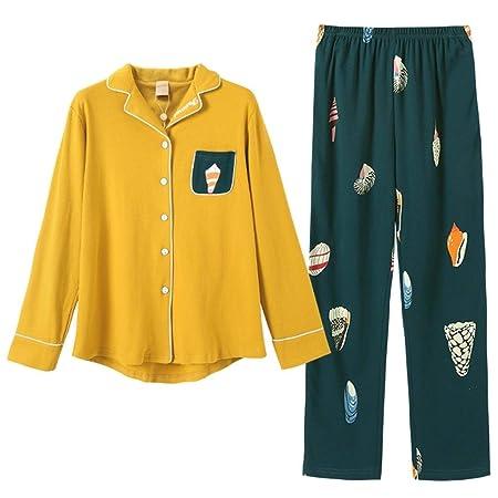 Camisones Pijamas Conjunto De Pijamas para Damas Pantalones De ...